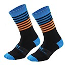 cheap Tools, Cleaners & Lubricants-Bike / Cycling Socks Men's Cycling / Wearable / Breathable 1 Pair Spring, Fall, Winter, Summer Stripe Nylon / Spandex / High Elasticity