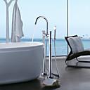 baratos Torneiras de Banheiro-Torneira de Banheira - Moderna Cromado Idependente Válvula Cerâmica