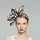 preiswerte Parykopfbedeckungen-Flachs Fascinatoren mit 1pc Hochzeit / Besondere Anlässe Kopfschmuck