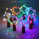 preiswerte LED Leuchtbänder-2m Flexible LED-Leuchtstreifen 20 LEDs EL Warmes Weiß / Weiß / Rosa Kreativ / Dekorativ / Cool 3 V 1 set