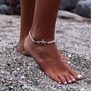 preiswerte Modische Armbänder-Glasperlen Knöchel-Armband - Stern, Glücklich Grundlegend, Modisch Schwarz Für Alltag Schultaschen Damen