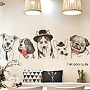 ieftine Acțibilde de Perete-Autocolante de Perete Decorative - Autocolante perete plane Animale Dormitor