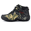 cheap Men's Boots-Men's Mountaineer Shoes Vibram Camping / Hiking Windproof, Waterproof, Wearable Fabric Yellow / Grey