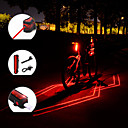 cheap Décor Lights-Laser LED Bike Light Rear Bike Tail Light Tail Light Mountain Bike MTB Cycling Waterproof Portable Adjustable 150 lm Rechargeable Battery Red Camping / Hiking / Caving