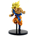 billige Anime actionfigurer-Anime Action Figurer Inspirert av Dragon Ball Son Goku PVC 22 cm CM Modell Leker Dukke