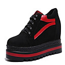 economico Sneakers da donna-Per donna Scarpe comfort PU (Poliuretano) Autunno Casual Sneakers Polacche Punta tonda Bianco / Nero / Monocolore