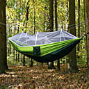 cheap Camping Furniture-Camping Hammock with Mosquito Net Outdoor Collapsible, Anti-Mosquito Nylon for Camping / Camping / Hiking / Caving / Outdoor - 1