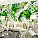 cheap Wall Stickers-Wallpaper / Mural Canvas Wall Covering - Adhesive required Botanical / Pattern / 3D