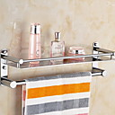 billige Gennemsigtige gardiner-Håndklædestang Nyt Design / Sej Moderne Rustfrit stål / jern 1pc Enkel Vægmonteret