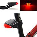 povoljno Biciklističke jakne-LED Svjetla za bicikle stražnja svjetla Biciklizam Vodootporno New Design Solar Power 100 lm Crveno Biciklizam / ABS