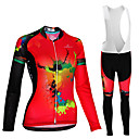 cheap Cycling Jersey & Shorts / Pants Sets-Malciklo Women's Cycling Jersey with Bib Tights Cycling Jersey - White / Black Plus Size Bike Jersey Quick Dry Reflective Strips Sports Lycra Zebra Mountain Bike MTB Road Bike Cycling Clothing Apparel