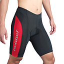 cheap Cycling Pants, Shorts, Tights-Jaggad Men's / Women's Cycling Padded Shorts - Red Bike Shorts / Padded Shorts / Chamois, Breathable, Quick Dry Stripe