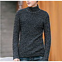 cheap Men's Necklaces-Men's Basic Pullover - Solid Colored, Patchwork