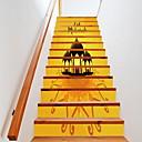 ieftine Acțibilde de Perete-Etichete autocolante - Autocolante perete plane Halloween Bucătărie / Interior