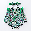 ieftine The Freshest One-Piece-Bebelus Fete Imprimeu Manșon Lung bodysuit