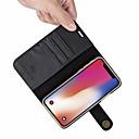 זול מדבקות קיר-מגן עבור Apple iPhone XR / iPhone XS Max מחזיק כרטיסים / עמיד בזעזועים / נפתח-נסגר כיסוי מלא אחיד קשיח עור PU ל iPhone XS / iPhone XR / iPhone XS Max