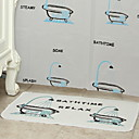 abordables Grifos de Ducha-Cortina de baño Modern CLORURO DE POLIVINILO Máquina Impermeable / Nuevo diseño Baño