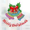 tanie Naklejki ścienne-Folie okienne i naklejki Dekoracja Święta Święto Polichlorek winylu Naklejka okienna