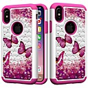 cheap Cell Phone Cases & Screen Protectors-Case For Apple iPhone XR / iPhone XS Max Shockproof / Rhinestone Back Cover Butterfly / Rhinestone Hard PC for iPhone XS / iPhone XR / iPhone XS Max