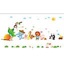 זול מדבקות קיר-מדבקות קיר דקורטיביות - מדבקות קיר מטוס / מדבקות קיר חיות / פרחוני / בוטני חדר ילדים
