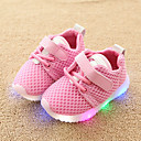 cheap Girls' Shoes-Boys' / Girls' Shoes Mesh Spring &  Fall Comfort / Light Up Shoes Sneakers Hook & Loop / LED for Kids / Toddler White / Black / Pink