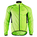 cheap Cycling Pants, Shorts, Tights-Nuckily Men's Cycling Jacket Bike Jacket Windbreaker Raincoat Waterproof Windproof Breathable Sports Polyester Winter Green Mountain Bike MTB Road Bike Cycling Clothing Apparel Advanced Relaxed Fit