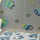 abordables Grifos de Ducha-Cortina de baño Modern CLORURO DE POLIVINILO Máquina Nuevo diseño / Cool Baño
