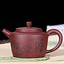 ieftine Cafea și Ceai-Porţelan Rezistentă la căldură / Culoarea pielii / Ceai neregulat 1 buc ceainic