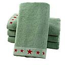 billige Hodetelefoner-Overlegen kvalitet Vaskehåndklæ, Geometrisk Ren bomull Baderom 1 pcs