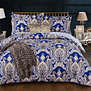 cheap Trend Duvet Covers-Duvet Cover Sets Geometric Polyster Reactive Print 3 PieceBedding Sets / 3pcs (1 Duvet Cover, 2 Shams)