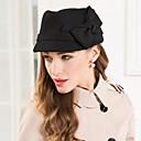 זול מדבקות קיר-צמר כובעים עם פפיון 1pc אירוע מיוחד / מסיבה\אירוע ערב כיסוי ראש