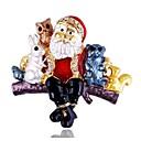 preiswerte Religiöser Schmuck-Damen Klassisch Broschen - Santa Anzüge Stilvoll, Klassisch Brosche Gold Für Weihnachten