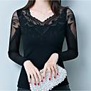 abordables Botas de Mujer-Mujer Básico Camiseta Un Color