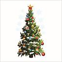 abordables Adhesivos de Pared-Calcomanías Decorativas de Pared - Calcomanías de Aviones para Pared / Holiday pegatinas de pared Navidad / Día Festivo Interior / Habitación de bebés