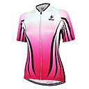 cheap Cycling Jerseys-Arsuxeo Women's Short Sleeve Cycling Jersey - Pink Stripe Classic Bike Jersey Top, Breathable Quick Dry Anatomic Design 100% Polyester / Stretchy