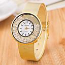cheap Earrings-Women's Wrist Watch Quartz Casual Watch Alloy Band Analog Fashion Minimalist Silver / Gold - Silver Golden