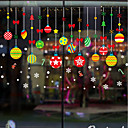 cheap Window Film & Stickers-Window Film & Stickers Decoration Christmas Character PVC(PolyVinyl Chloride) Window Sticker / Adorable / Funny