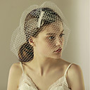 cheap Camp Kitchen-One-tier Vintage Style / Classic Style Wedding Veil Blusher Veils with Solid Tulle