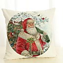cheap Pillow Covers-Pillow Cover Christmas Cotton Fabric Square Cartoon Christmas Decoration