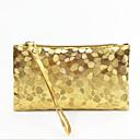 cheap Clutches & Evening Bags-Women's Bags PU(Polyurethane) Clutch Zipper Purple / Yellow / Silver