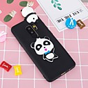 cheap Straps, Dangles, Charms-Case For Samsung Galaxy S9 Plus / S8 Plus Pattern / DIY Back Cover Panda Soft TPU for S9 / S9 Plus / S8 Plus