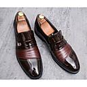 hesapli Spor Saat-Erkek Ayakkabı Mikrofiber İlkbahar & Kış Mokasen & Bağcıksız Ayakkabılar Günlük için Siyah / Kahverengi