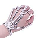 olcso Divat nyaklánc-Női Régies stílus Gyűrű karkötők - Koponya Nyilatkozat, divatba jövő Karkötők Ezüst Kompatibilitás Halloween Ajándék