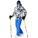 tanie Odzież narciarska i snowboardowa-Wild Snow Męskie Kurtka i spodnie narciarskie Odporność na wiatr, Ciepłe, wodoodporne Narciarstwo / Piesze wycieczki / Multisport Poliester, 100% bawełna Zestawy odzieży Odzież narciarska / Zima
