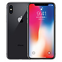 זול IPhone משופצים-Apple iPhone X A1865 5.8 אִינְטשׁ 64GB טלפון חכם 4G - משופץ(אפור)