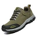 abordables Zapatillas de Deportiva de Hombre-Hombre Zapatos Confort Cuero de Cerdo / PU Otoño Deportivo Zapatillas de Atletismo Senderismo Antideslizante Bloques Gris / Marrón / Verde Ejército