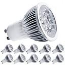 baratos Luzes Traseiras para Carros-10pçs 5 W 450 lm E14 / GU10 / GU5.3 Lâmpadas de Foco de LED 5 Contas LED LED de Alta Potência Decorativa Branco Quente / Branco Frio 85-265 V