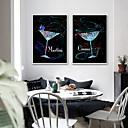 baratos Impressões-Quadros Emoldurados / Conjunto Emoldurado - Abstrato / Vida Imóvel Plástico Ilustração
