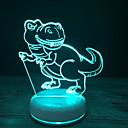 olcso Asztali dekor lámpa-1db 3D éjszakai fény Váltó USB Érintésérzéklő / Menő / Atmosféra lámpa <=36 V