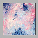 tanie Obrazy: abstrakcja-Hang-Malowane obraz olejny Ręcznie malowane - Abstrakcja Nowoczesny Płótno